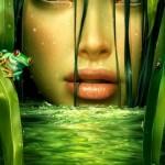 green wetland
