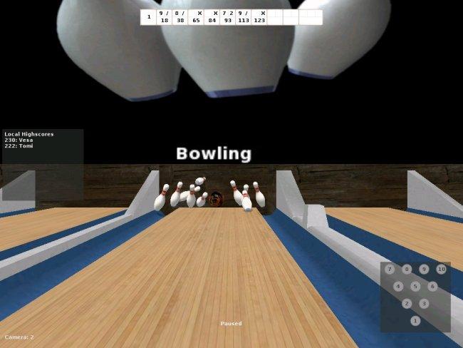 bowling play