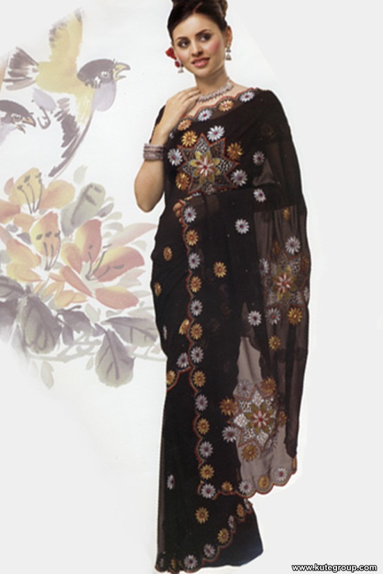 black-saree-designs- (5)