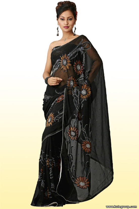 black-saree-designs- (8)