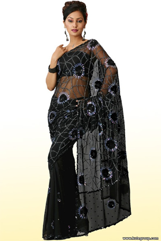 black-saree-designs- (12)
