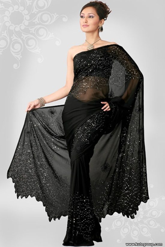 black-saree-designs- (17)
