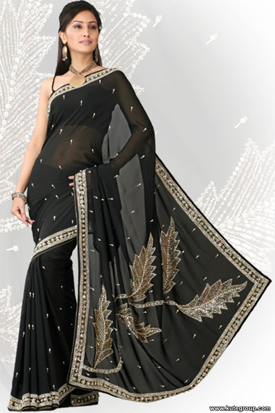 black-saree-designs- (18)