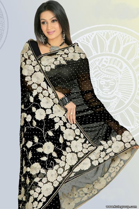 black-saree-designs- (3)