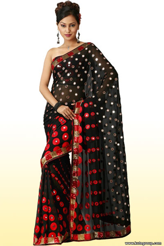 black-saree-designs- (14)