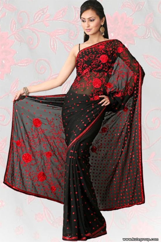 black-saree-designs- (16)