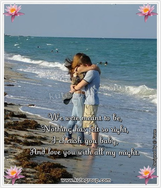 Life Is Nothing Without You Romantic Love Poem | Kute Group com