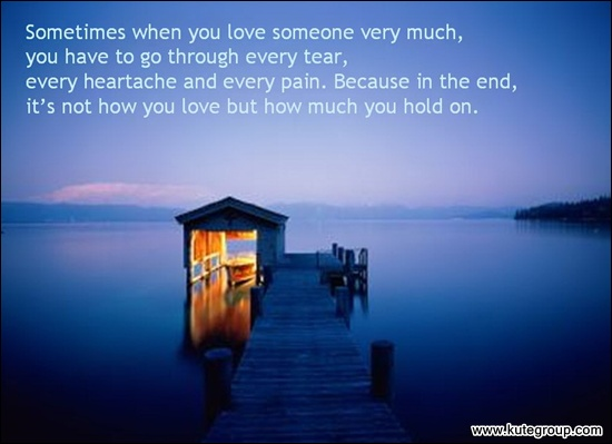 quotes and sayings about love and life