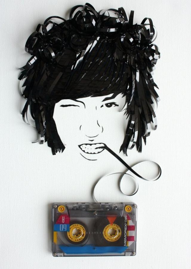 cassette art