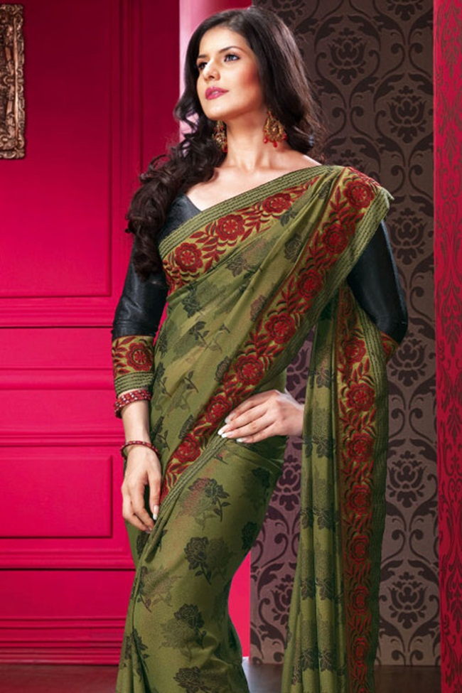 zarine-khan-latest-saree-collection- (1)