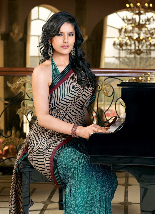 zarine-khan-latest-saree-collection- (4)