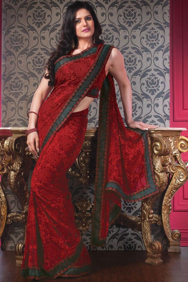 zarine-khan-latest-saree-collection- (9)