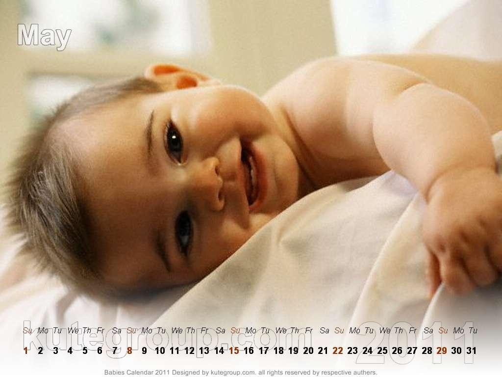 babies calendar