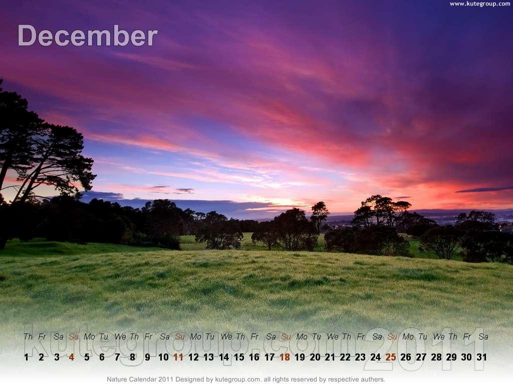 nature calendar