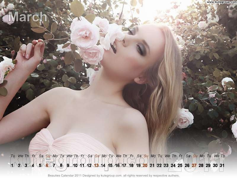 model calendar