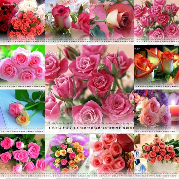 """rose calendar"""