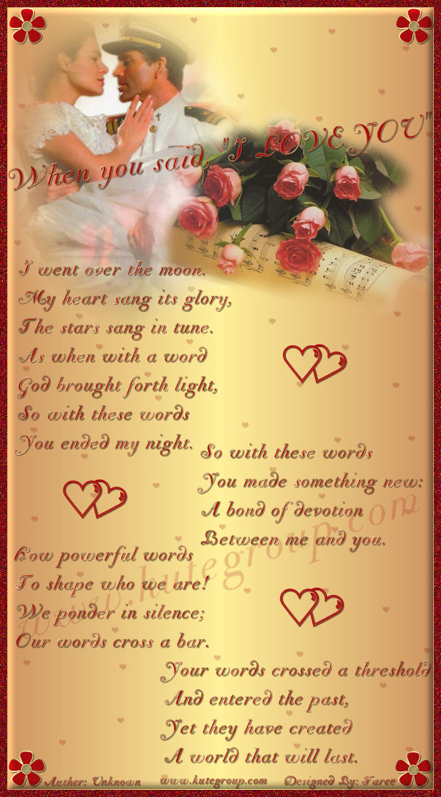 romantic poem