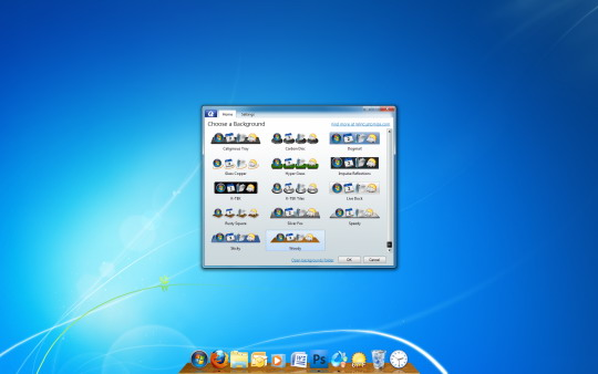 desktop customizing