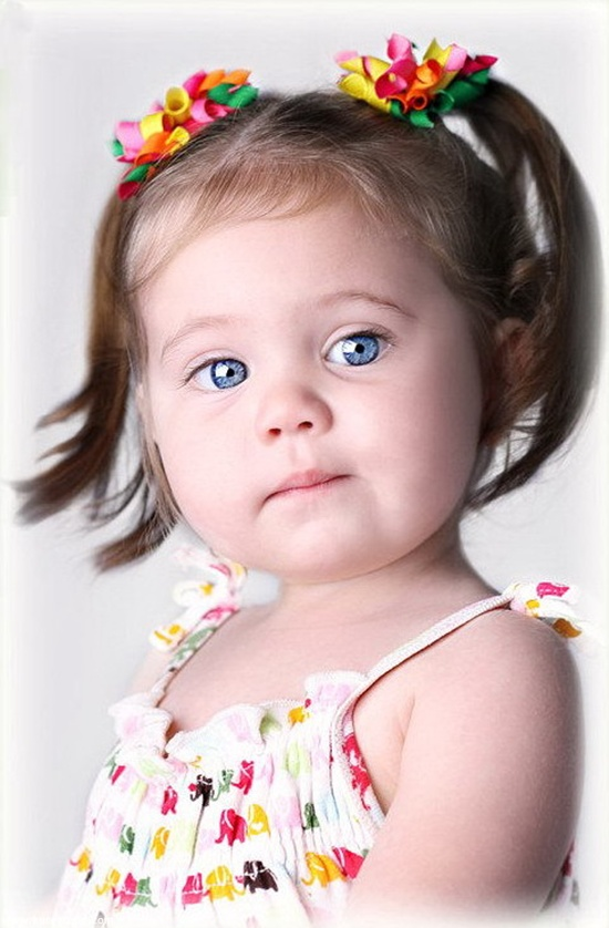 Cute Baby Girl Photo