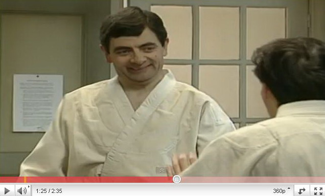 """mr bean video"""