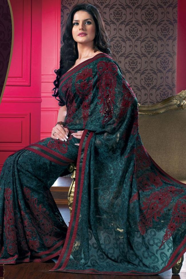 zarine-khan-latest-saree-collection- (6)