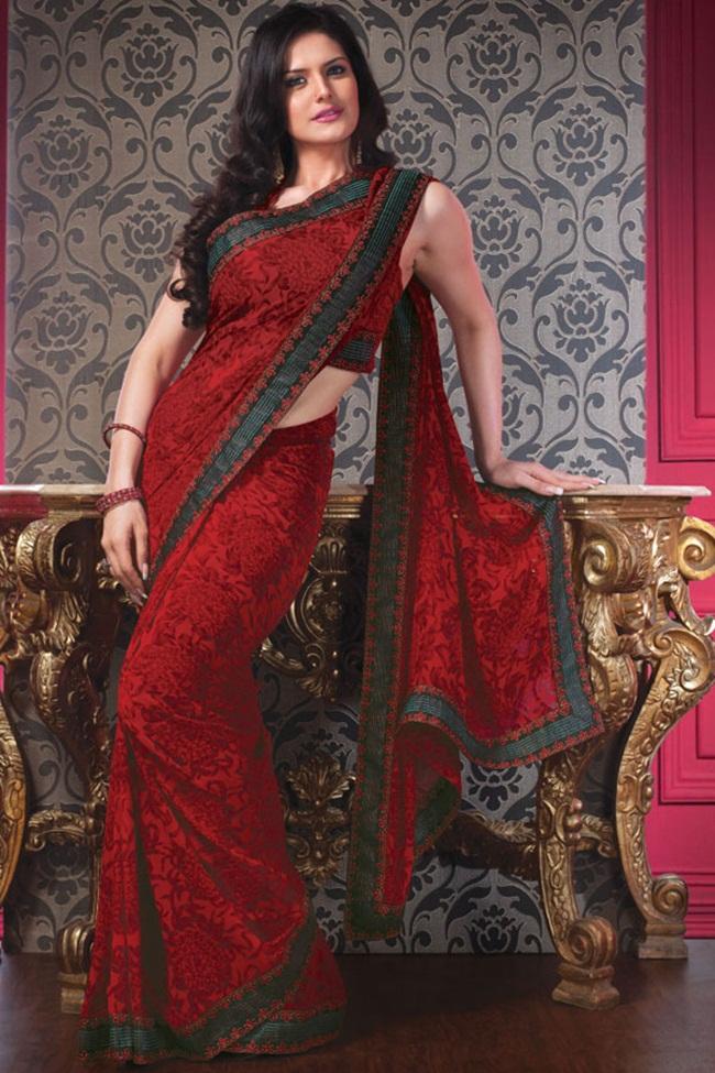 zarine-khan-latest-saree-collection- (9)