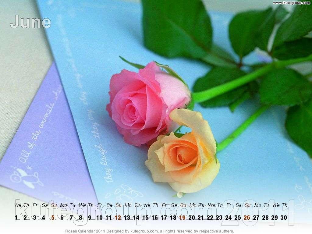 rose calendar